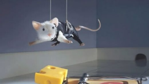 souris en mission impossible