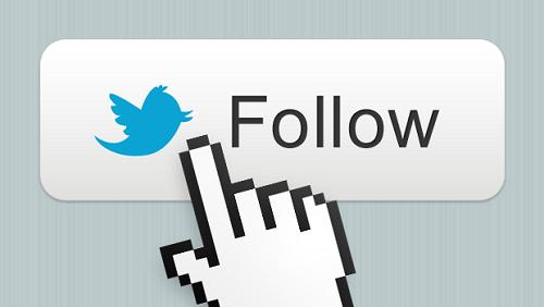 bouton suivre twitter