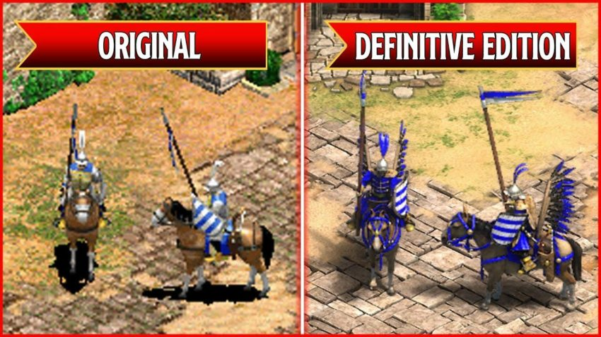 Chevaliers d'Age of Empires 2