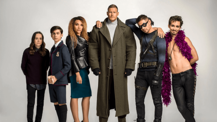 famille hargreeves umbrella academy