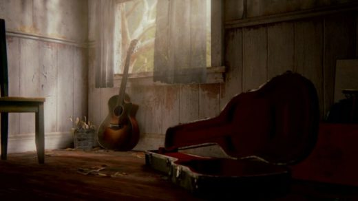 the last of us 2 maison guitare