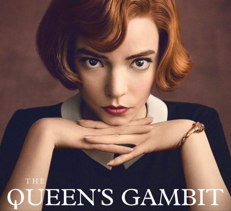 Visuel promotionnel de la série The Queen's Gambit
