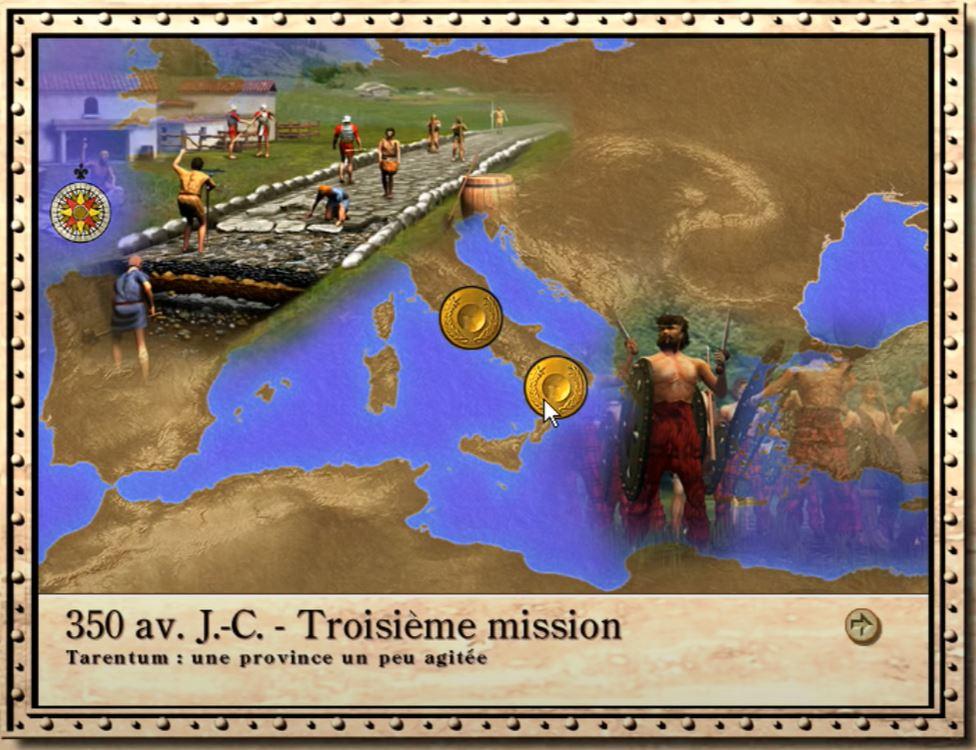 Caesar III : choix de mission