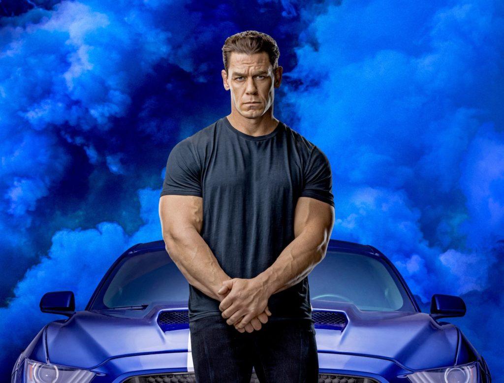 John Cena dans Fast and Furious 9.