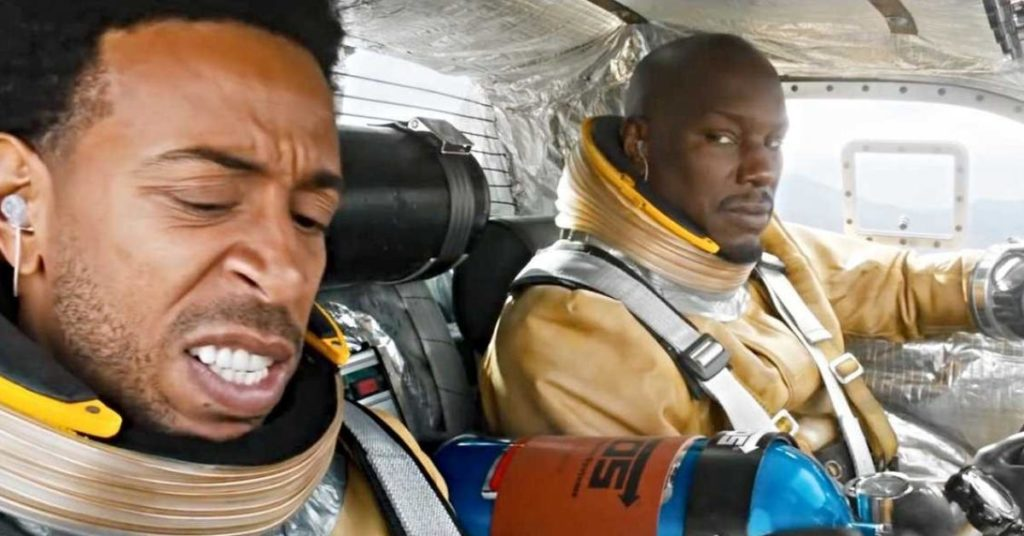 Tyrese Gibson et Ludacris dans Fast and Furious 9.